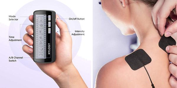 Electroestimulador muscular TENS Hilogy chollo en Amazon