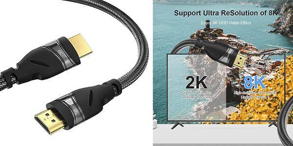 Eluteng cable HDMI 2.1 chollo