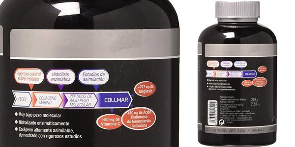 Colágeno marino Collmar 180 comprimidos oferta en Amazon
