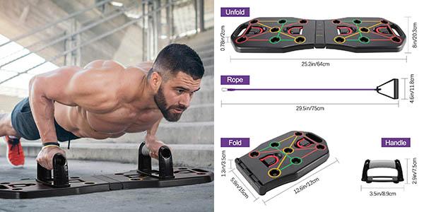 Fostoy Push Up Rack Board tabla fitness barata