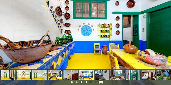 Frida Kahlo Museo México tour virtual