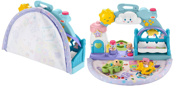 Guardería de Bebés Fisher-Price Little People (Mattel GWT76) barata en Amazon
