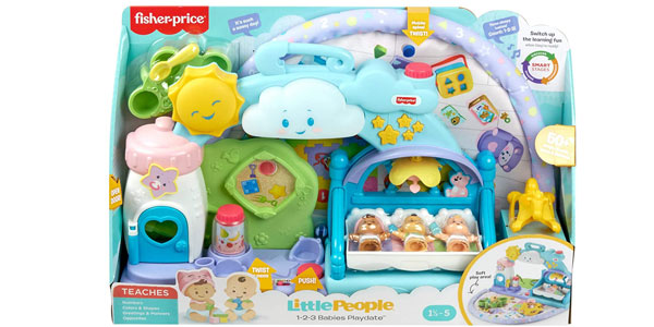 Guardería de Bebés Fisher-Price Little People (Mattel GWT76) chollo en Amazon