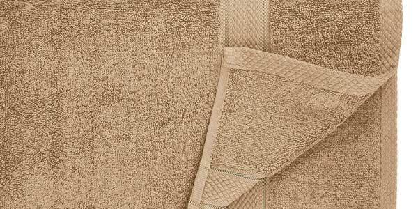 Juego x6 toallas de algodón egipcio Pinzon by Amazon chollo en Amazon