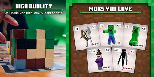 Juego de mesa Minecraft: Builders & Biomes barato