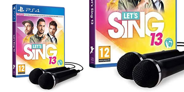 Let's Sing 13 para PS4 barato