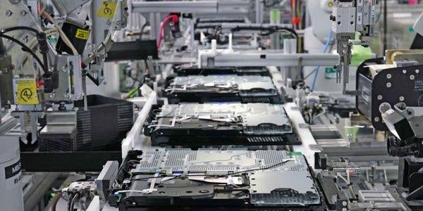 linea fabricación Playstation