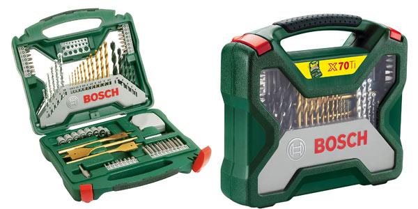 Maletín Bosch X Line Titanio 70 piezas barato en Amazon