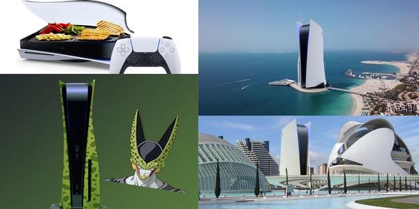mejores memes diseño PS5