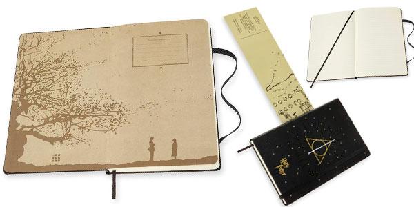 Cuaderno grande Moleskine Harry Potter Reliquias de la Muerte barato