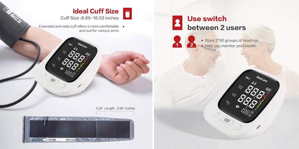 Monitor de presión arterial Sinocare oferta en AliExpress