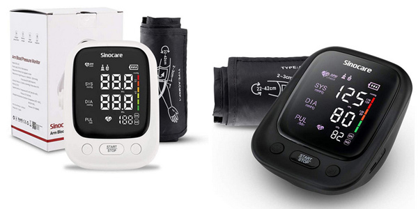 Monitor de presión arterial Sinocare barato en AliExpress