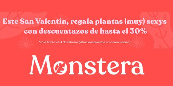 Monstera promoción San Valentín 2021