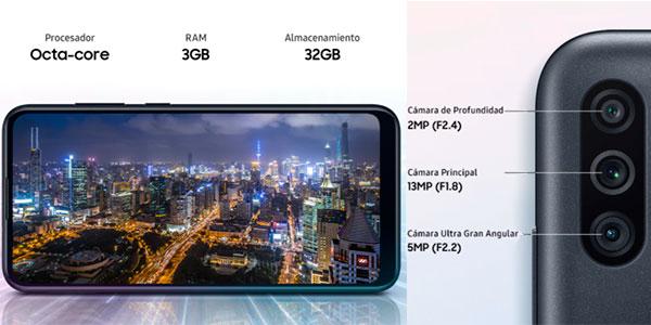 "Smartphone Samsung Galaxy M11 de 6,4"" 3GB +32GB barato"
