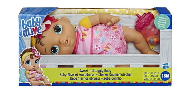 Muñeco Bebé Baby Alive Tiernos Abrazos (Hasbro E75995L0) chollo en Amazon