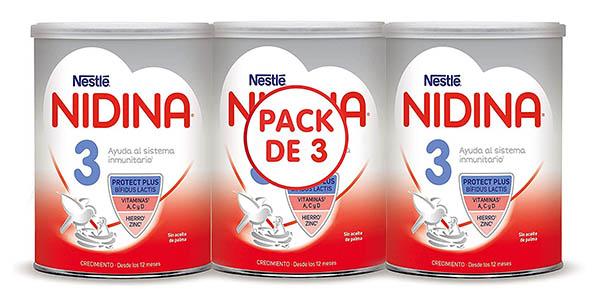Nestlé Nidina 3 leche infantil oferta
