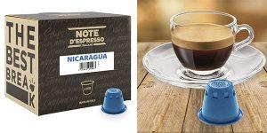 Note D'Espresso Nicaragua cápsulas café baratas