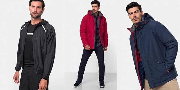 ofertas chaquetas Carrefour TEX