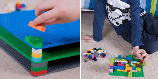 Pack de 12 Bases Strictly Briks compatibles con LEGO chollo en Amazon