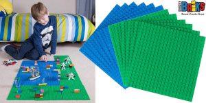 Pack de 12 Bases Strictly Briks compatibles con LEGO baratas en Amazon