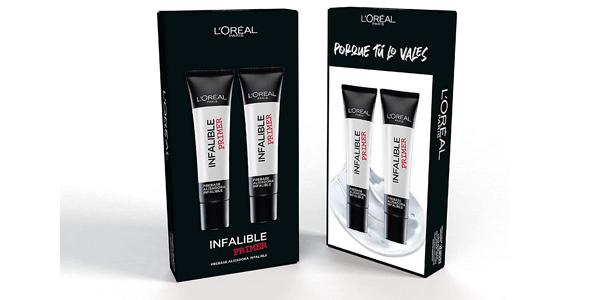 Pack x2 L'Oreal Paris Make-up Designer Infalible Prebase barato en Amazon