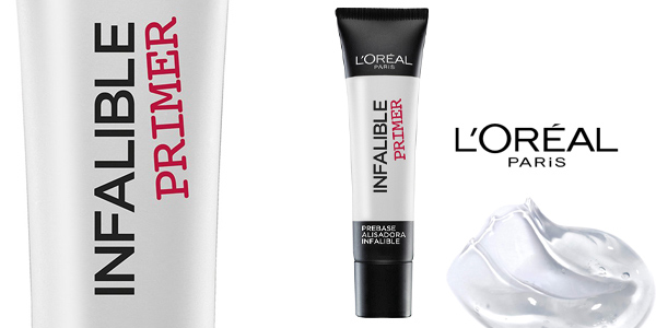 Pack x2 L'Oreal Paris Make-up Designer Infalible Prebase chollo en Amazon
