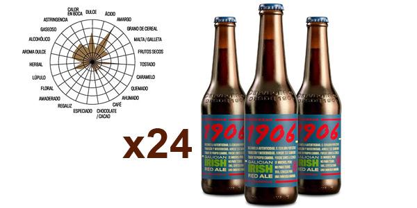 Pack x24 Botellas 1906 Galician Irish Red Ale de 33 cl barato en Amazon
