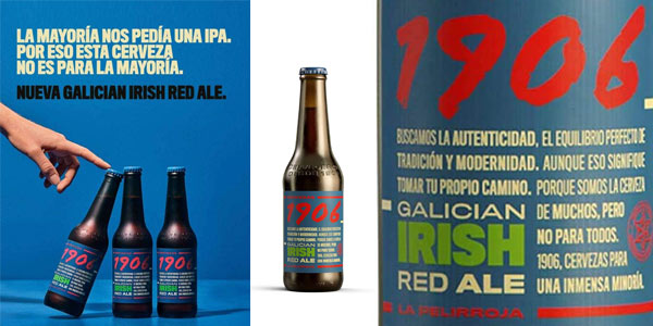 Pack x24 Botellas 1906 Galician Irish Red Ale de 33 cl chollo en Amazon