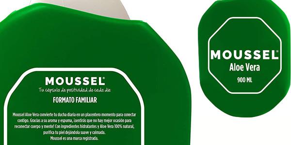 Pack x4 Gel Ducha Moussel Aloe Vera de 900 ml/ud chollo en Amazon
