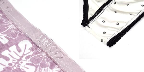 Pack x6 Bragas de algodón Unco para mujer chollo en AliExpress Plaza
