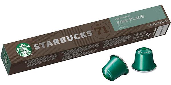 Pack de 80 cápsulas café Starbucks Pike Place Roast de Nespresso barato