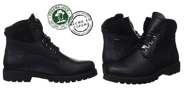 Panama Jack Amur GTX botas cuero negro oferta