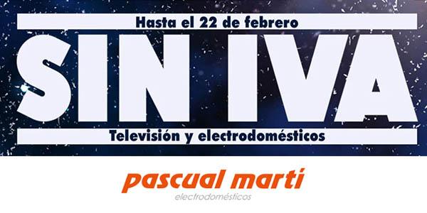 Pascual Martí Días sin IVA febrero 2021