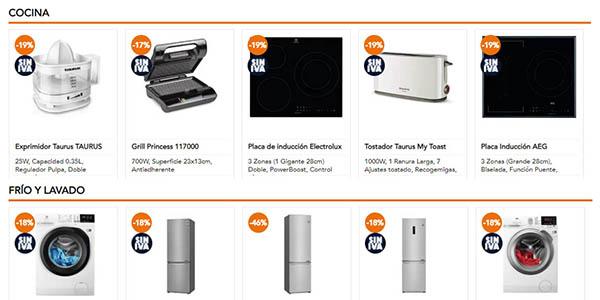 Pascual Martí ofertas sin IVA electrodomésticos