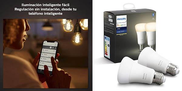 Philips Hue oferta bombillas inteligentes Amazon