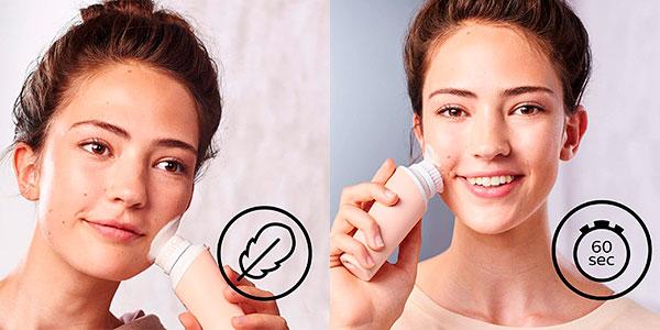 Mini limpiador facial Philips VisaPure resistente al agua barato