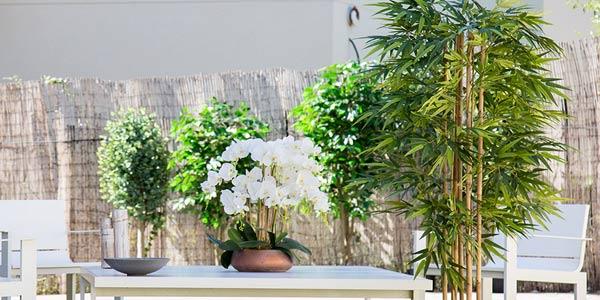 Plantas artificiales tipo árbol Maia oferta en AliExpress