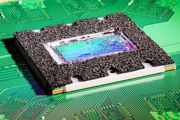 fotografía del procesador de PS5
