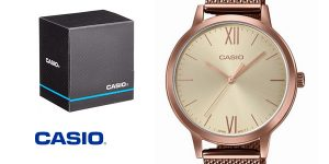 Reloj Casio LTP-E157MR-9AEF Vintage Round para mujer barato en Amazon