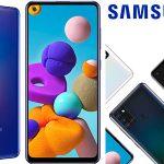 """Chollo Samsung Galaxy A21s de 6.5"""" 4 GB RAM + 128 GB ROM"""