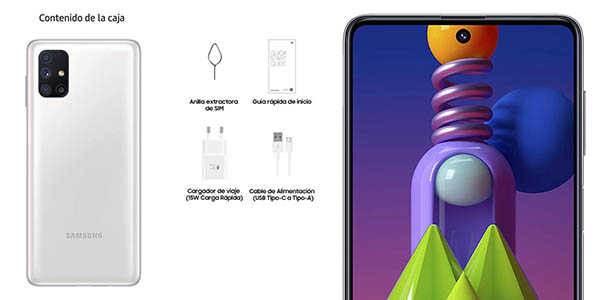 Samsung Galaxy M51 smartphone barato