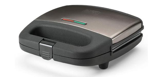 Sandwichera Black+Decker sellado óptimo de 750W chollo en Amazon