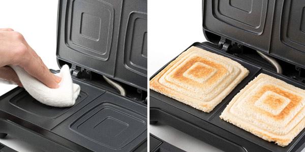 Sandwichera Black+Decker sellado óptimo de 750W oferta en Amazon