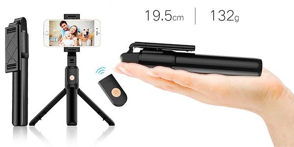 Selfie stick K07 Bluetooth con trípode desmontable barato