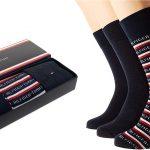 Pack x3 Calcetines Tommy Hilfiger para hombre en caja de regalo baratos en Amazon