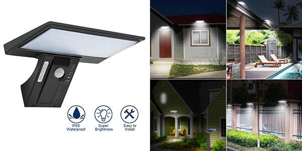 Shopled lámpara solar impermeable barato