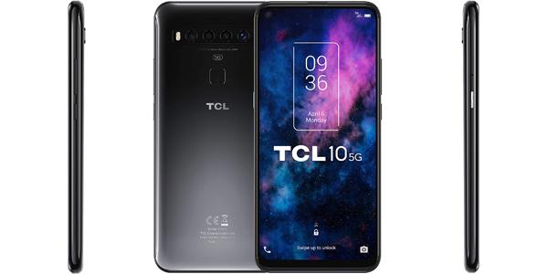 """Smartphone TCL 10 5G - de 6.53"""" FHD+ 6GB 128GB barato en Amazon"""