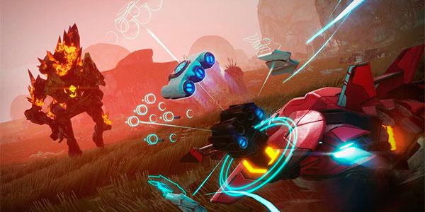 Set de inicio Starlink: Battle for Atlas para Switch con Arwing, 2 pilotos y 2 armas barato