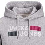 Sudadera Jack Jones logo barata en Amazon