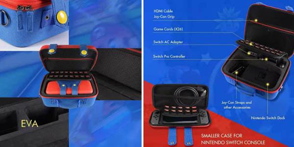 Super Mario Nintendo Switch estuche portátil relación calidad-precio alta